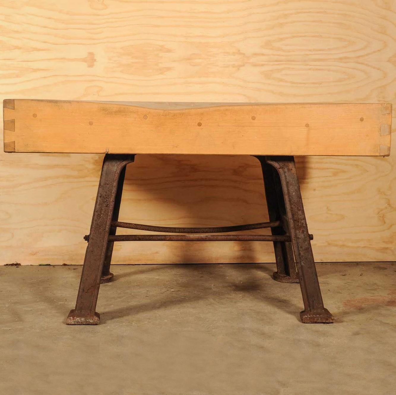 Alte Metzger Tisch