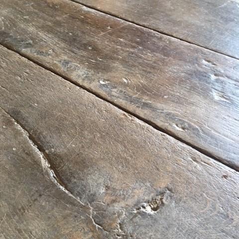 Antiker Eichenholzboden