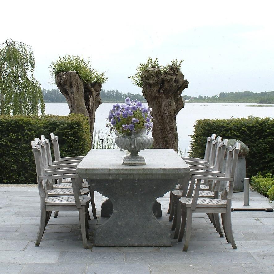 Belgischer hartstein Gartentisch