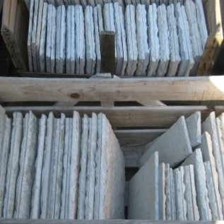 Alte Geschnitten Carrara Marmor Fliesen 27 x 27 cm