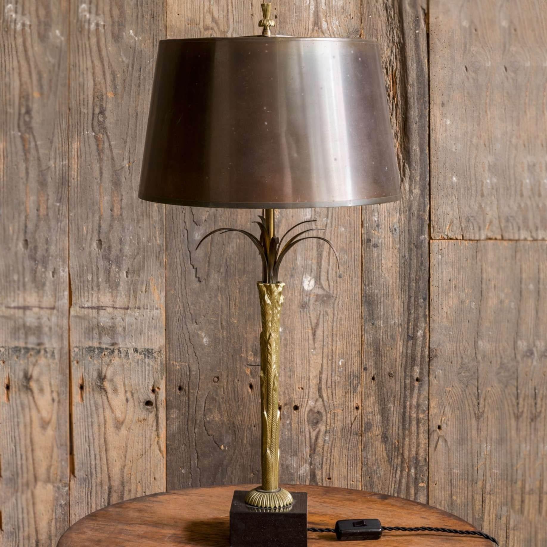 Maison Charles Bronze Tischlampe