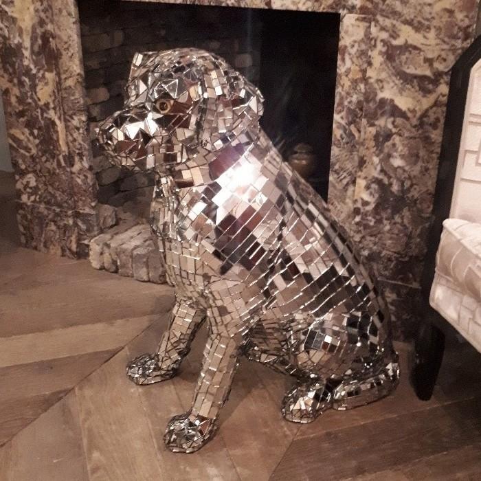 Vintage Disco Hund