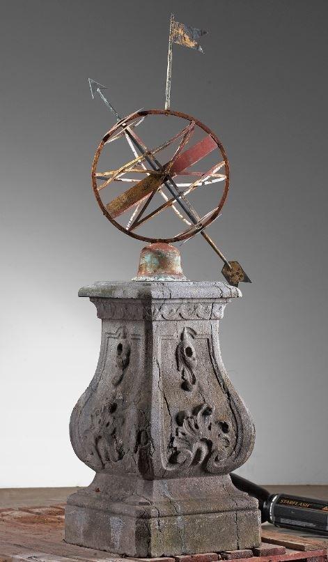 Antike Sonnenuhr Armillarsphäre