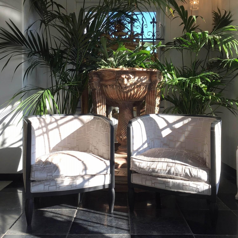 Zwei luxuriöse Vintage Sessel